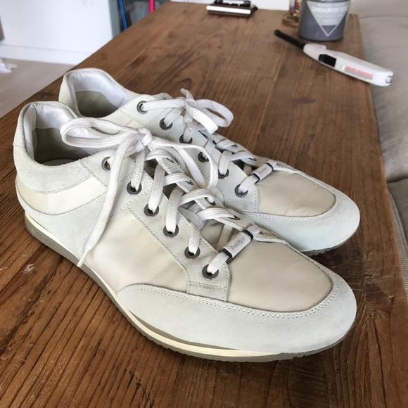 6aaa9730 Zegna - white sneakers, casual athletic sneakers.
